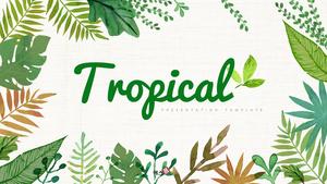 트로피칼 (Tropical) 피피티 배경