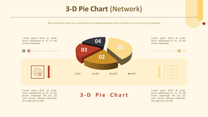3D 원형 Chart (네트워크)