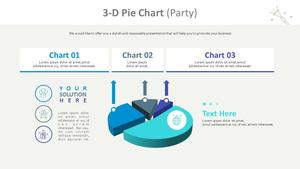 3D 원형 차트 (파티)