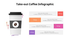 테이크아웃 커피 Infographic (Coffee Shop)
