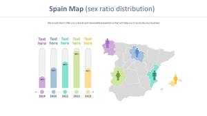 스페인 Map Diagam (인구증가)