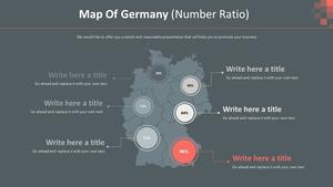 독일 지도형 다이어그램 (비율)