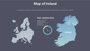 아일랜드 지도형 다이어그램