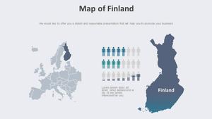 핀란드 지도 Diagram
