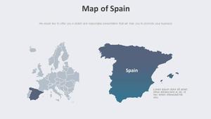 스페인 Map 다이어그램