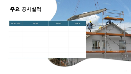 투자제안서_주거용건물 공사업 - 섬네일 14page