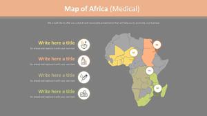아프리카 지도 Diagram (의료)