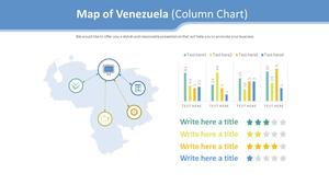 베네수엘라 지도형 Diagram (세로 막대 그래프)