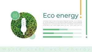 에코에너지 PPT 배경 템플릿 (환경, 과학)