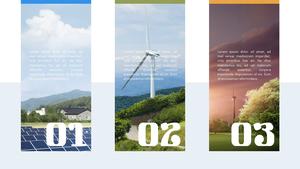 환경 에너지 피피티 배경 (과학, 환경)
