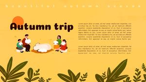 가을 나들이 (Autumn Trip) 피피티 배경