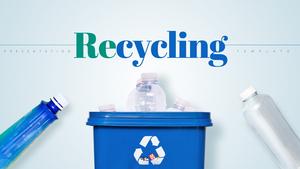 재활용 (Recycling) 피피티 배경 템플릿