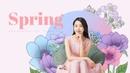 Spring (봄, 꽃) 배경 PPT 템플릿