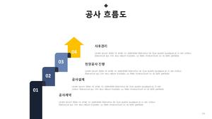 회사소개서 주상복합 건설업 #15