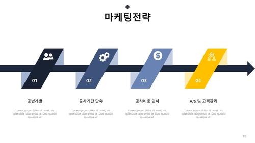 회사소개서 주상복합 건설업 - 섬네일 19page
