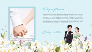 결혼식 청첩장 피피티 배경 (Wedding)