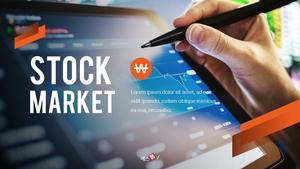 주식 시장 (Stock market) 파워포인트 템플릿
