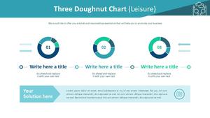 Three 도넛형 차트 (여가활동)