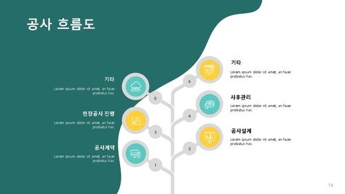 타일공사업 사업제안서 (건설업) - 섬네일 15page