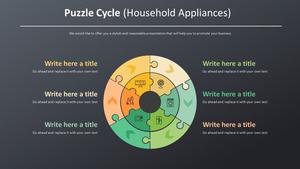 퍼즐 Cycle 스마트아트 (가전제품)
