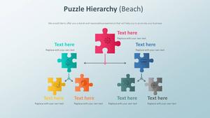 퍼즐 계층구조 다이어그램 (해변)