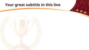 award 피피티 배경 (순위,시상) - 어워드