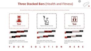 3 주식형 Bar 차트 (헬스&피트니스)