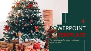 크리스마스 트리 (이벤트) Powerpoint 배경 - 와이드
