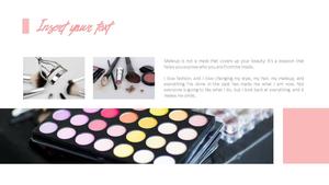 뷰티 메이크업(Make Up) PPT표지 디자인
