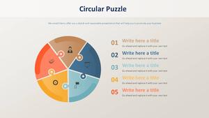 원형 Puzzle 다이어그램