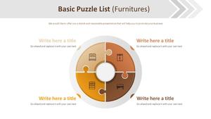 Basic 퍼즐 리스트 다이어그램 (가구)
