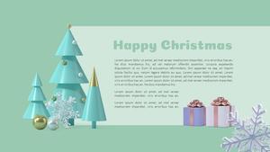 크리스마스 오브젝트 PPT 배경템플릿 (Christmas)