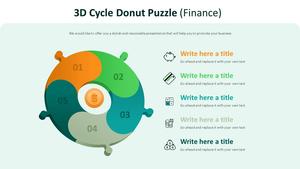 3D 사이클 도넛 퍼즐 Diagram (금융)