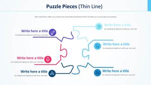 퍼즐 조각 Diagram (얇은선)
