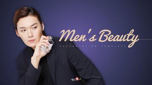 남성 뷰티 (Mens Beauty) 피피티 배경