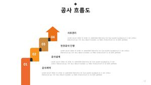 표준 사업계획서_포장공사 #13