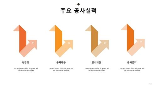 표준 사업계획서_포장공사 - 섬네일 14page
