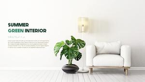 여름 플랜테리어 (Summer Green Interior) 템플릿