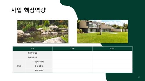 건설업 표준사업계획서_조경공사업 - 섬네일 12page