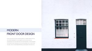 인테리어 도어 디자인 (Door Design) 템플릿