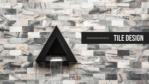 인테리어 타일 디자인 PPT 템플릿