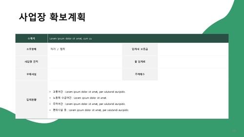 창업사업계획서 (실내인테리어 공사업) - 섬네일 19page