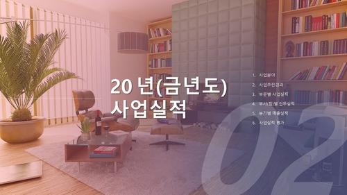 건설업 신년도 실내건축공사 사업계획서 - 섬네일 8page