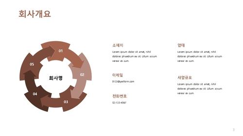 인테리어건설업 신년도 사업계획서 (건설공사업) - 섬네일 4page