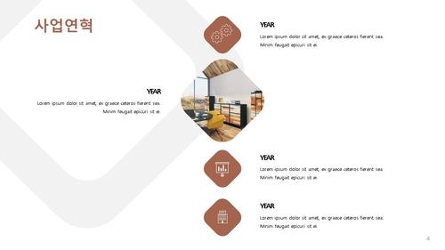 인테리어건설업 신년도 사업계획서 (건설공사업) - 섬네일 5page
