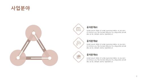 인테리어건설업 신년도 사업계획서 (건설공사업) - 섬네일 9page