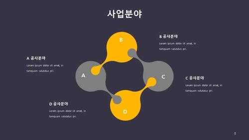 신년도 사업계획서 (금속구조물창호공사) - 섬네일 9page