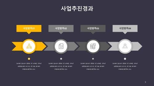 신년도 사업계획서 (금속구조물창호공사) - 섬네일 10page
