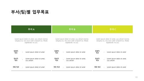 조경식재공사업 신년도사업계획서 (건설) - 섬네일 19page
