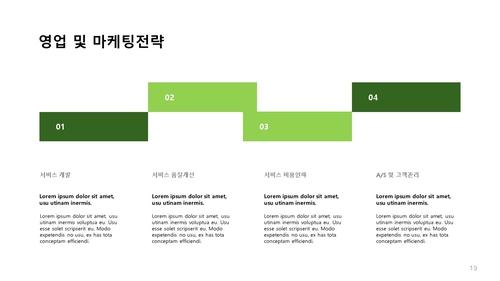 조경식재공사업 신년도사업계획서 (건설) - 섬네일 20page